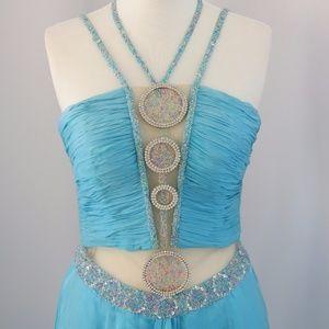 Alyce Dresses - Alyce Light Blue Dress, Size: 14